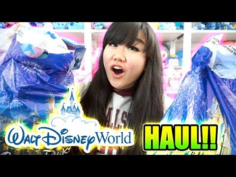 Disney Trip 2018 Haul from Disney World, Disney Springs!