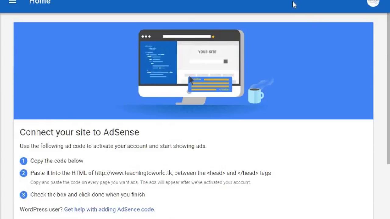 how to put adsense verification code blogger | Urdu/hindi