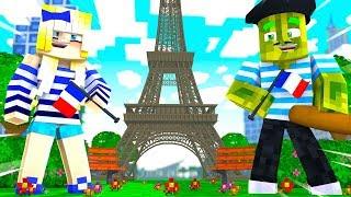 1 URLAUB in FRANKREICH?! - Minecraft REISE