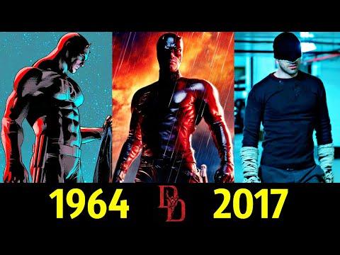 😈 СорвиГолова - Эволюция (1964 - 2017) ! Все Появления Мэттью Майкла Мёрдока 👊!