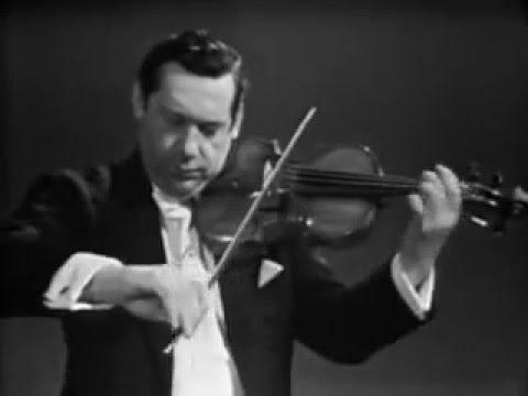 Arthur Grumiaux play Ernest Bloch Nigun ( Improvisation )