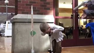 The Professor at UO Science and Invention Fair 2018