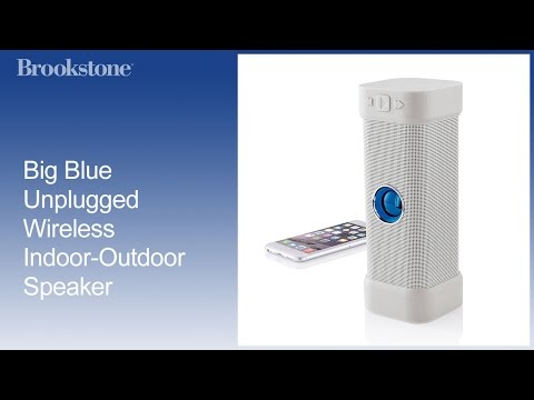 Big Blue Unplugged Wireless Indoor Outdoor Speaker