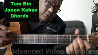 Tum Bin Jaoon Kahan - Pyar Ka Mausam - Guitar Chords Lesson By Sudarshan Khati