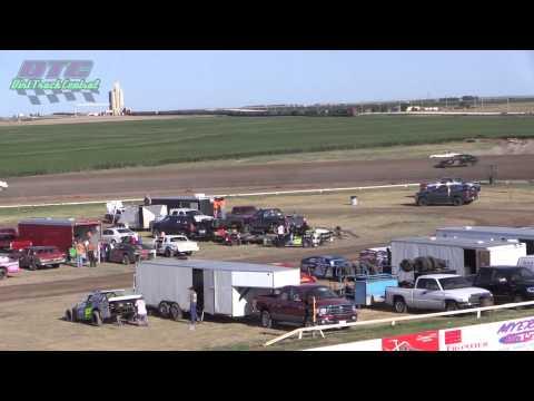IMCA Sport Compact Heats Wakeeney Speedway 7 27 14
