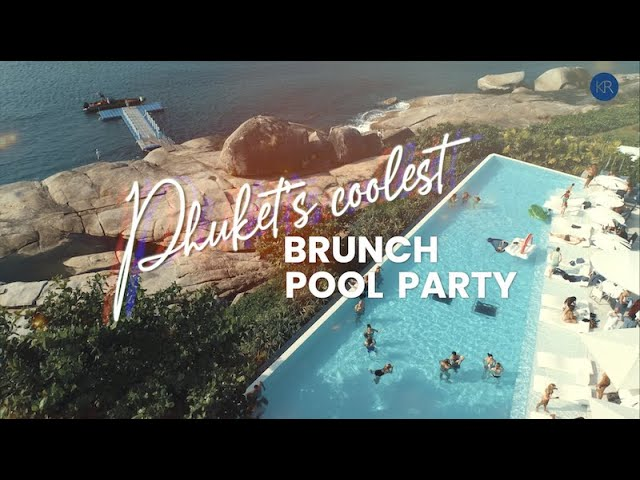 Brunch Pool Party Promo