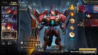 Omen quỷ nguyệt tướng đại chiến Maloch đại tướng robot