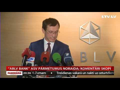 """ABLV bank"" ASV pārmetumus noraida; komentāri skopi"