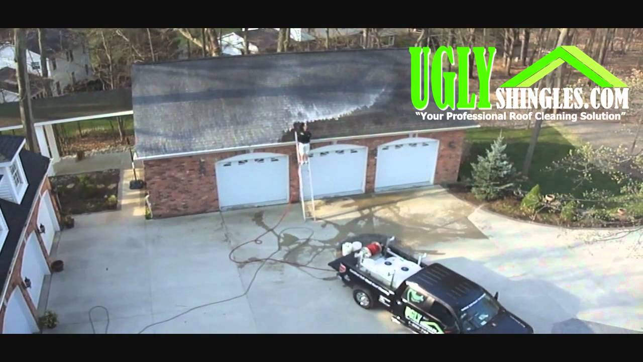 Certified Quot Soft Wash Quot Roof Cleaning System By Ugly