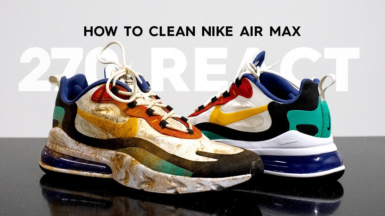How To Clean Toasted Air Max 270 With