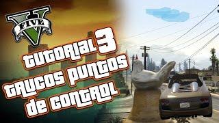 GTA V Online - Guia Tutorial 3 Trucos Puntos de Control - Poner Puntos en el Aire GTA 5 Online