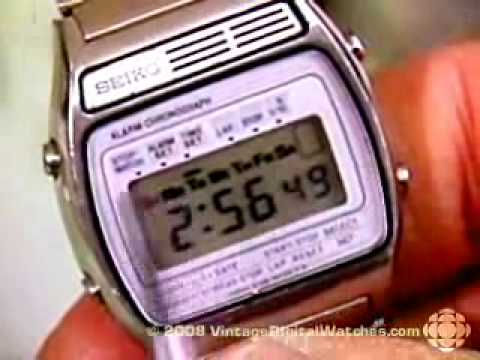 digital watches vintage early digital lcd watches