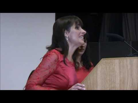 Fabiana and Paula Chávez speaking at UCL Institute of Education - UK