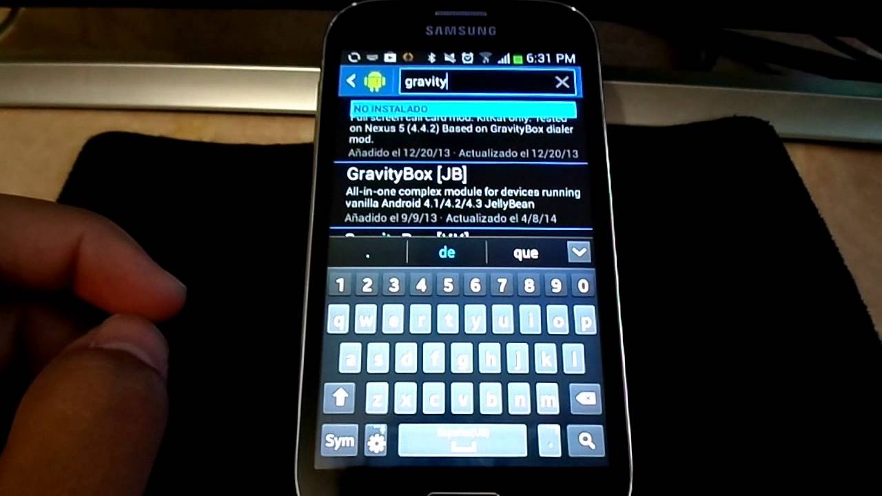 Gravity Box Android 9