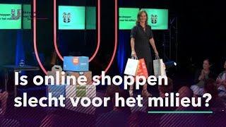 Is online shoppen slecht voor het milieu?