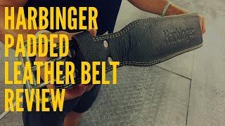 Hombre Harbinger 4 Inch Padded Leather Belt