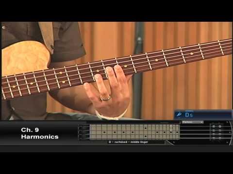 Learn Urban Bass And Gospel Bass Guitar - Learn Harmonics: Visit GospelBass.com To Purchase!