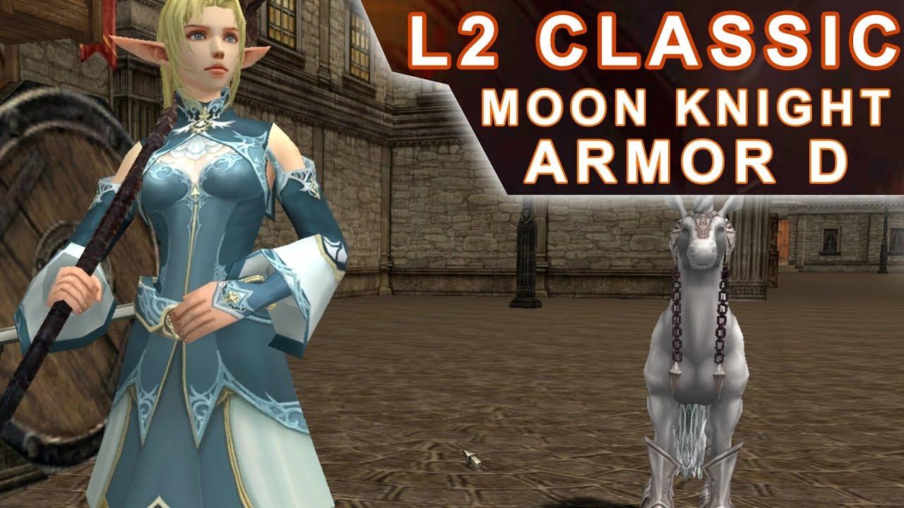 Lineage 2 Classic - Quest de Armadura Grade D (Moon Knight Armor) Level  25-40 (PT-BR) Elf Gameplay