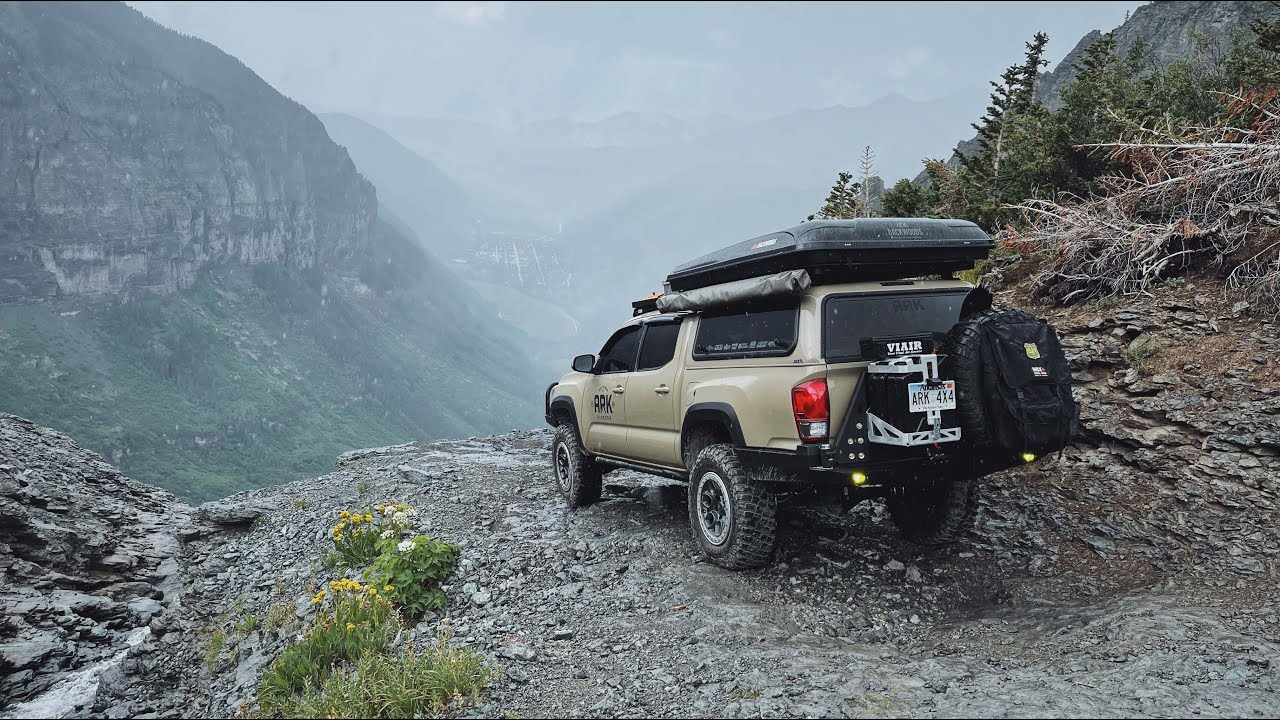 Black Bear Pass in the RAIN! Backwoods Overland Camp Ride – Pt.1