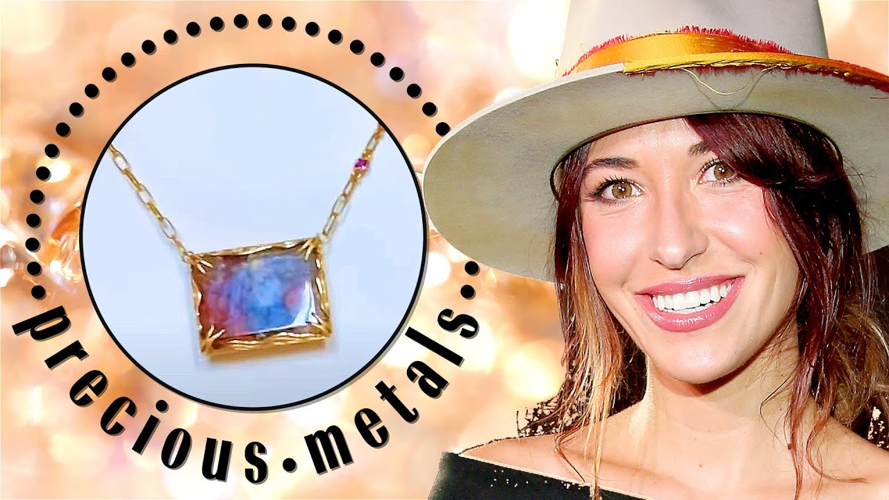 Lauren Daigle Shares the History Behind Her One-of-a-Kind Jewelry | Precious Metals | Marie Claire
