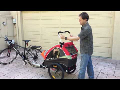 Burley Solo Bike Trailer product review