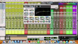 Mixing A Song In Protools, Mixing A Reggae Song