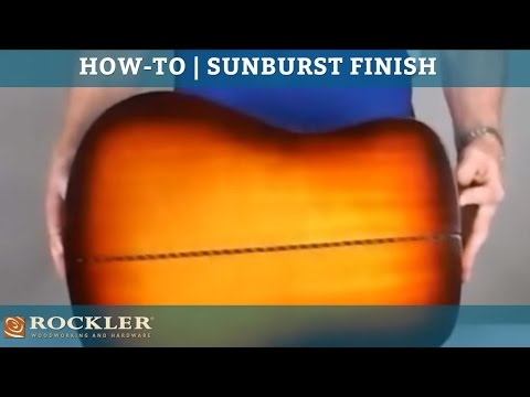How-To: Sunburst Guitar Finish