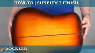 How-To: Sunburst Guitar Finish