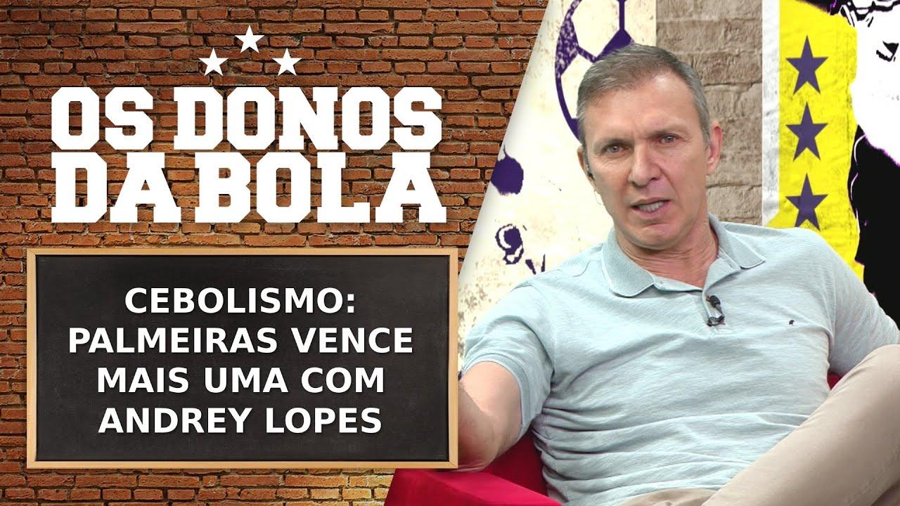 CEBOLISMO: PALMEIRAS VENCE MAIS UMA COM O TREINADOR ANDREY LOPES   OS DONOS DA BOLA