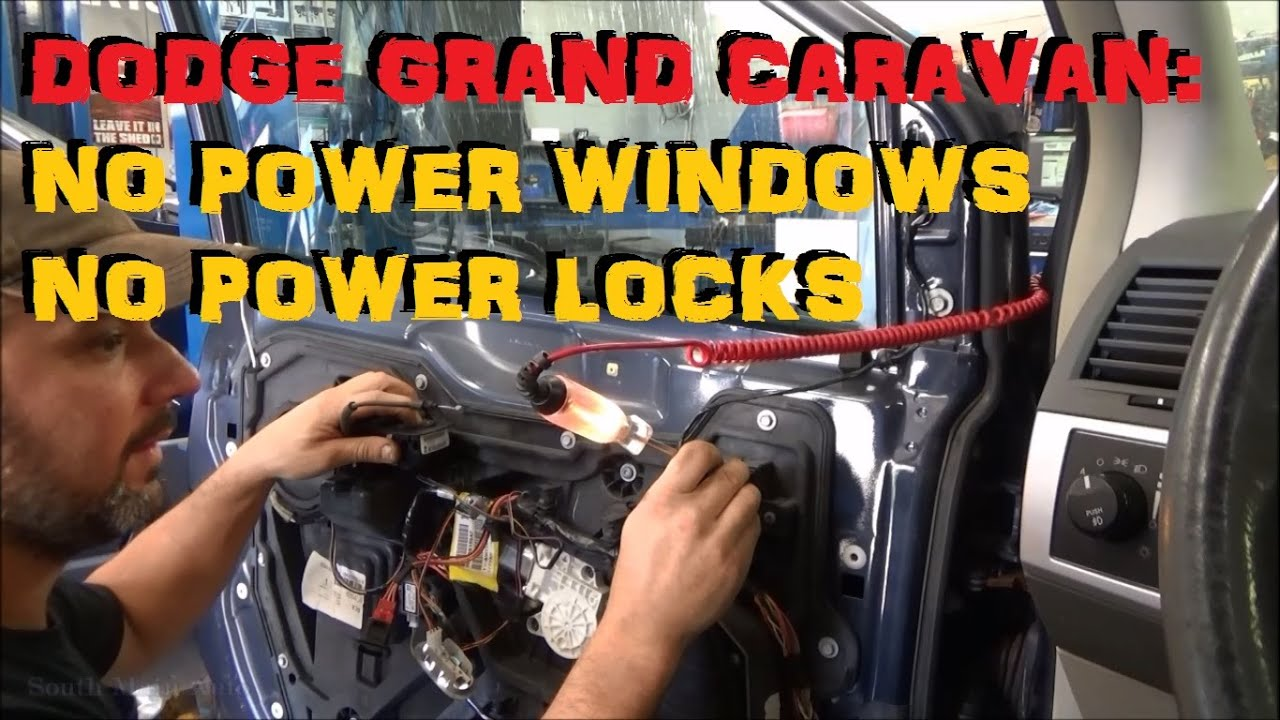 Town And Country Dodge >> Dodge Grand Caravan: No Power Window No Power Locks - CAN ...