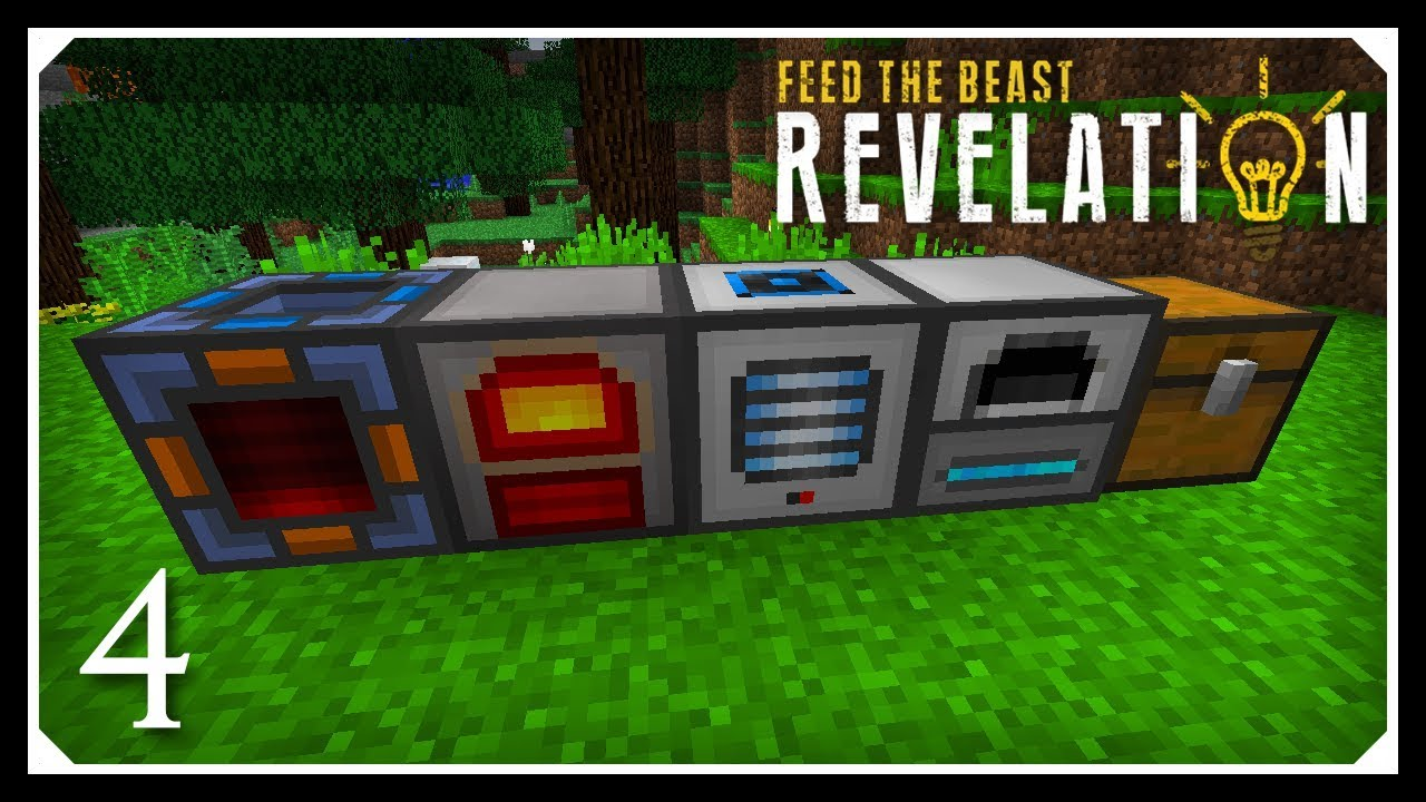 How To Play FTB Revelation | Simple RF Power & Starter Tech! | E04 Modded  Minecraft For Beginners