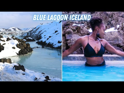 🇮🇸 BLUE LAGOON Geothermal SPA Experience | A DAY IN MY LIFE IN ICELAND | Tabitha Laker
