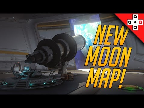 Overwatch Lunar Colony NEW MAP! - PTR Gameplay