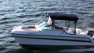 Aerial Footage 23' Glacier Bay Catamaran