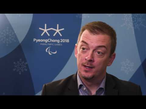 Interview with Andrew Parsons ahead of PyeongChang 2018