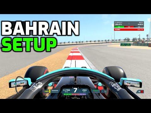 F1 2021 BAHRAIN HOTLAP + SETUP (1:24.556)