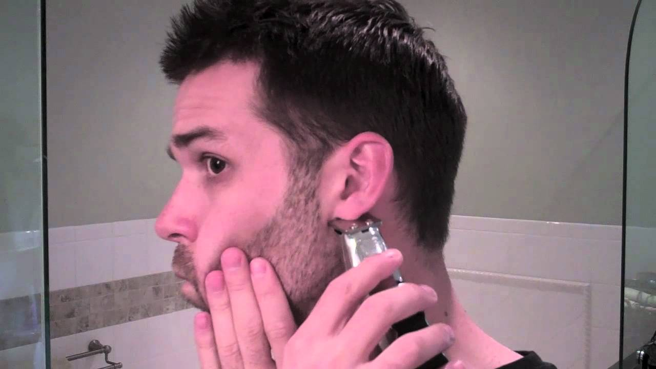 wahl beard and mustache trimmer youtube. Black Bedroom Furniture Sets. Home Design Ideas