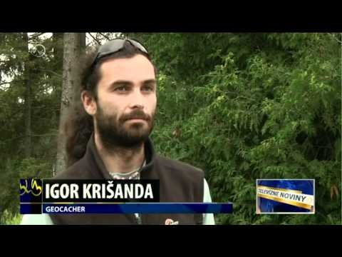 About geocaching from TV Markiza