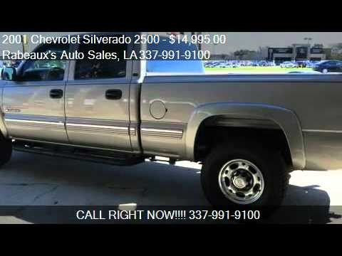 hqdefault 2001 chevrolet silverado 2500 lt 6 6l duramax diesel for s youtube  at readyjetset.co