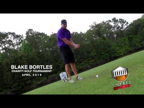 Jacksonville Jaguars QB Blake Bortles Crushes Tee Shot with Inverted Driver