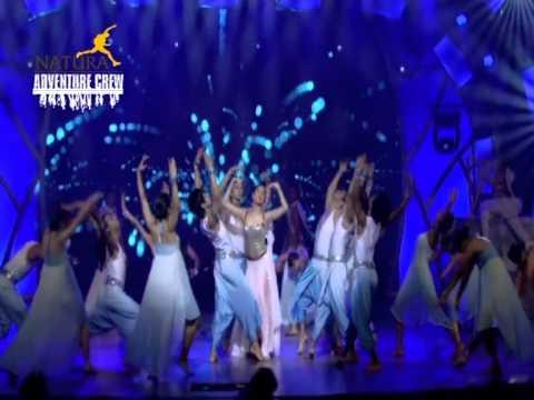 TellyChakkar.com's New Talent Awards Aerial Performances by Natura