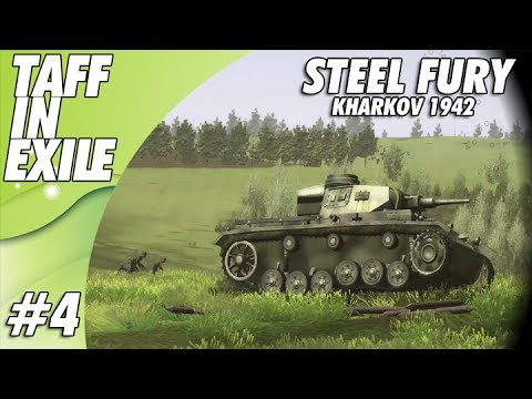 Steel Fury Kharkov 1942 | E4 | Panzer IV Capture The Hill!