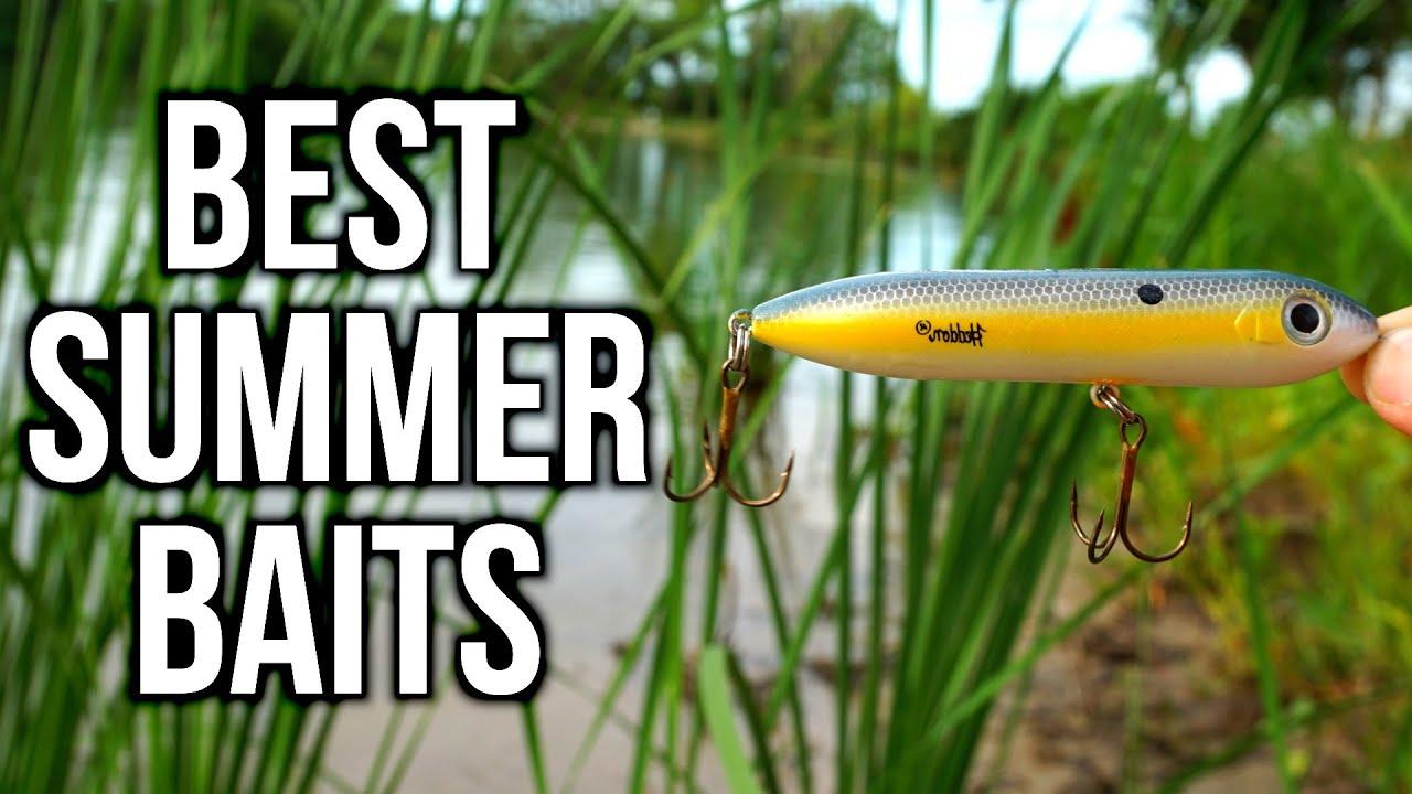 Top 5 summer bass fishing lures pond lake tips youtube for Best lures for summer bass fishing