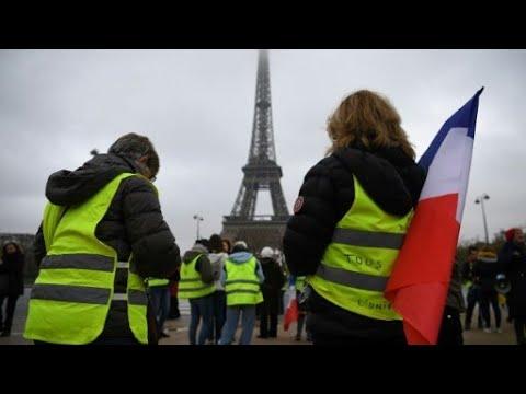 أحزاب يسارية و-السترات الصفراء- ينظمون إضرابا في فرنسا  - 10:55-2019 / 2 / 6