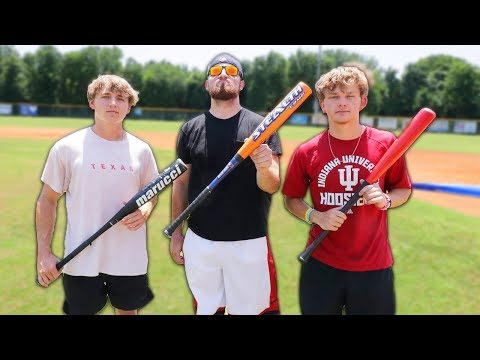 ILLEGAL BASEBALL BAT HOME RUN DERBY!