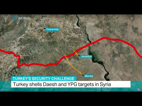 Turkey's Security Challenge: Turkey shells Daesh and YPG targets in Syria, Ediz Tiyansan reports