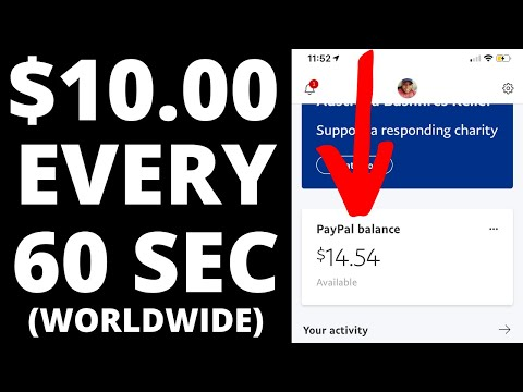 Earn $10.00 Per 60 SECONDS For FREE! (Make Money Online Fast)