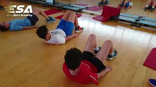 SIMPLE WORKOUT RUGBY PLAYERS Under 14 #ELITESPORTACADEMY