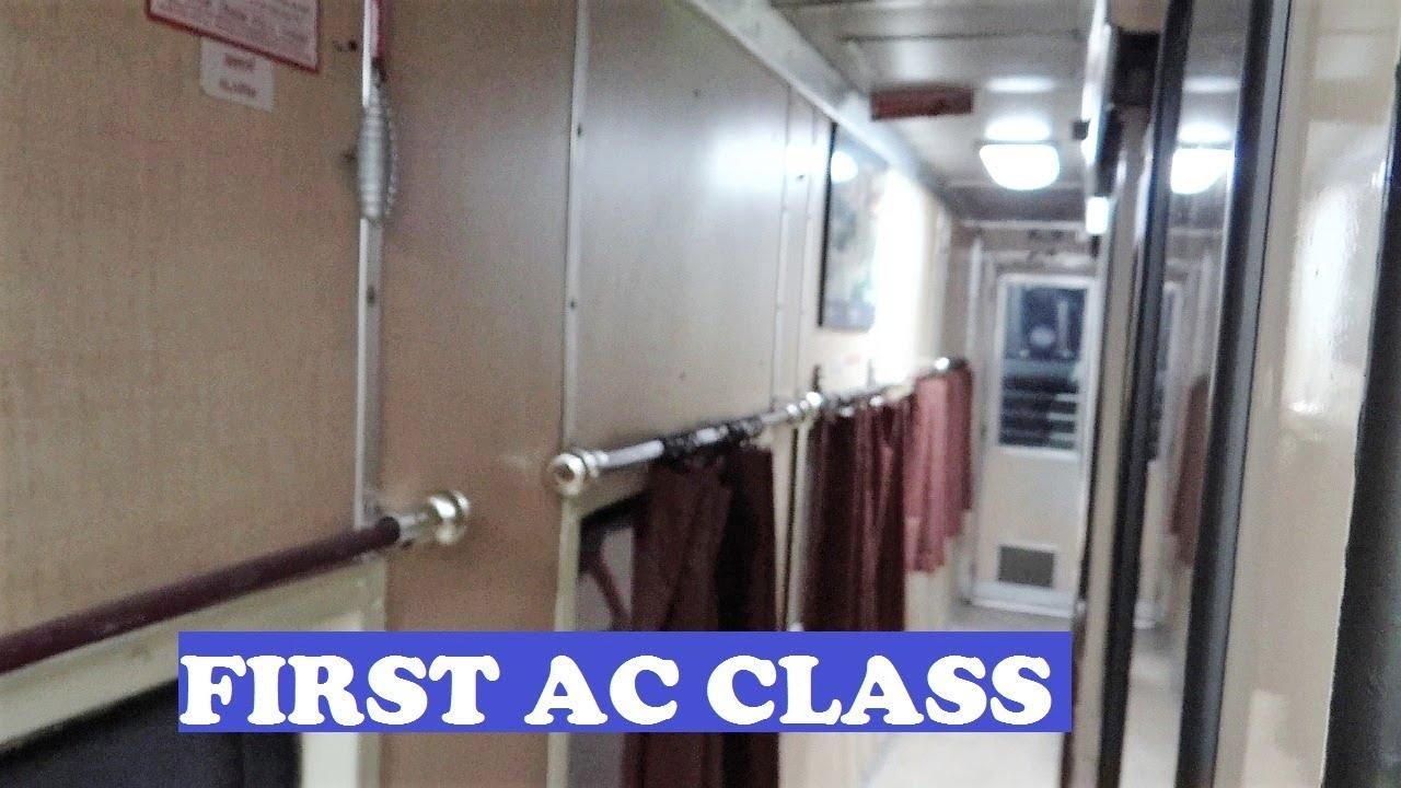 1st AC Coupe Jaisalner Kathgodam Ranikhet - YouTube