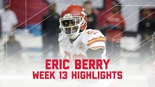 Eric Berry's Clutch 8-Point Performance! | Chiefs vs. Falcons | NFL Week 13 Player Highlights